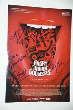 4 x Cast from Angry Indian Goddesses signed 20x30cm Foto ; Autogramm / Autograph