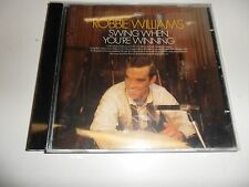 CD  Robbie Williams - Swing When You're Winning