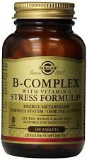 Solgar B Complex w/ Vitamin C Stress Formula 100 tabs