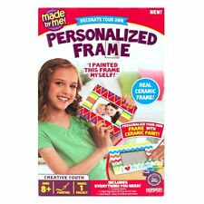Kids Paint Your Own Decorative Ceramic Picture Photo Frame Family Craft Kit 8+