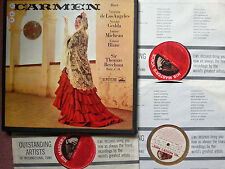 ASD 331-333 Bizet Carmen Victoria De Los Angeles 3LP Box Set