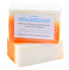 12 Bars Of Authentic Kojic Acid & Glutathione Triple Whitening / Bleaching Soap