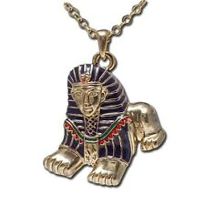 EGYPTIAN SPHINX NECKLACE JEWELRY. BEAUTIFUL EGYPT PENDANT