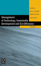 Management of Technology, Sustainable Development and Eco-Efficiency: Selected