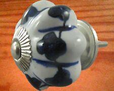 Porzellanknopf Tür Griff Möbel Zubehör Wohnen Bastelbedarf Schraube 35 mm farbig