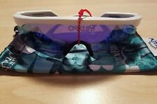 Oakley RAZORBLADES Heritage Collection White w/ Violet Iridium Weekend Sale New.
