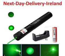 Powerful Strong Laser Pointer Green Beam -1mw 18650 Cat Dog Toy PowerPoint