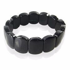 Turmalina negra / negro Turmalina Pulsera calidad noble pulsera Gema