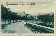 CARTOLINA d'Epoca BIELLA Citta'  - VIALE PRINCIPE di PIEMONTE  1910