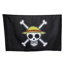 One Piece Skull Pirate Logo Monkey·D·Luffy Going Merry  Flag Straw Hat