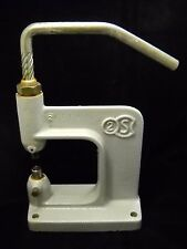 Greece Vintage Rare Leather Press Punch Tool 2S Punch Tools