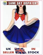 Sailor Moon dress costume cosplay anime school uniform living Japanese dead