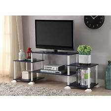 TV Stand Entertainment Center Storage Cabinet Furniture Media Console Navy