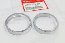 Honda CB 350 450 Chromringe Ringe Lampenhalter Chrome Rings Headlight Bracket
