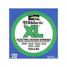 D'addario El. Guitar Extra Super 008-038 EXL-130 Set,I7*