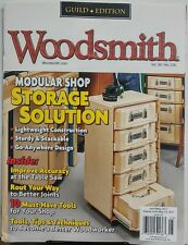 Woodsmith April May 2017 Modular Shop Storage Solutions Saw FREE SHIPPING sb
