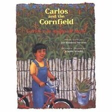 Carlos and the Cornfield / Carlos y la milpa de maiz (Carlos Series) (English,