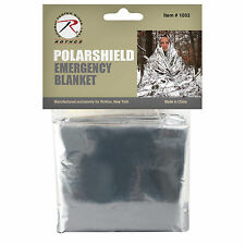 Rothco Polarshield Nasa Survival Emergency Thermal Safety Waterproof Blanket