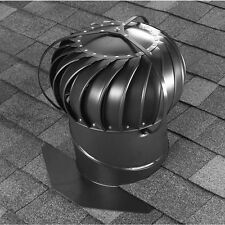 New 12-in Aluminum Externally Braced Roof Turbine Air Vent Attic Ventilation