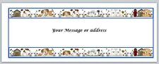 30 Personalized Return Address Labels Dogs Buy 3 get 1 free (ct242)