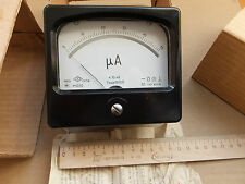 DC 0-50uA Analog Current Panel Meter, USSR 1982,Professional Device. NOS.