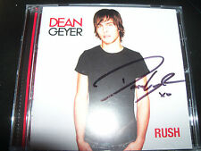Dean Geyer ( Neighbours / Glee ) Rush Rare Australian Signed Autographed CD