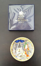 Royal Worcester Christmas Plate: The Night Before Christmas  BOXED