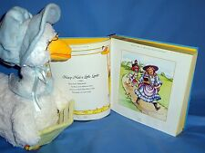 Cuddle Barn Plush Mother Goose-Animated;reads Nursery Rhymes;Treasury Rhyme Book