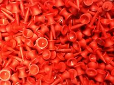Great Value: 100 x Masters RED Plastic Castle Tees - FREE P&P