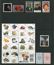 US 2016 Year Set Commemorative & Definitive Year Set - 170 Stamps 4 Sheets USA