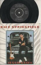 "RICK SPRINGFIELD   Rare 1981 UK Only 7"" OOP RCA Rock P/C Single ""Jessie's Girl"""