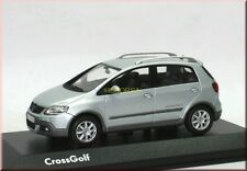 VW VOLKSWAGEN CROSS GOLF 5 V 2007 EISSILBER ICE Silver Minichamps 1:43 spacciatori