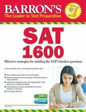 Barron's SAT 1600 : Effect Stargies for Tackling the SAT's Hardest Questions...