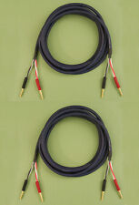Straightwire Musicable II SC speaker cables 12' standard stereo pair NEW!