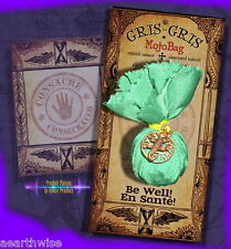 BE WELL MOJO BAG GRIS GRIS  Wicca Pagan Witch Goth Spell HEALTH HEALING