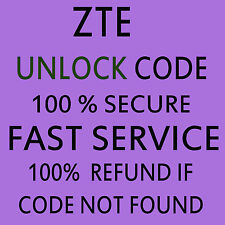 Unlock Code ZTE MF910 4G WLAN POCKET WIFI CodeUnlockingUnlock Code Fast Service