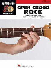 Open Chord Rock: Essential Elements Guitar Songs, Hal Leonard Corp., New Book