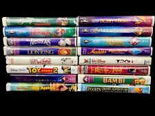 LOT 16 Disney VHS Movies Classic Family Films TRON FANTASIA TOY STORY BEAUTY Etc