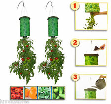 UPSIDE DOWN HANGING TOMATO PLANTER  x Three packs Incredible value