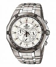 CASIO EF540D-7A Edifice Chronograph Mens Analog 3 Subdial Solid Stainless Steel