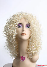New Fashion Wig Long Curly Wavy Layer Black Brown Blonde DailyWear/Party Cosplay