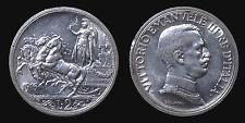 pci1308) Vittorio Emanuele III  (1901-1943) 2 lire Quadriga Briosa 1916