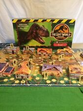 Jurassic Park The Lost World Site B 3-D 3D Board Game Rare! MB 100% Complete!