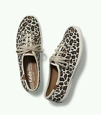 KEDS Champion Brown Leopard Sneakers Size USA 8 EU 39