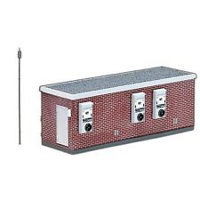 MODEL POWER HO SCALE BUILDING KIT Signal Switch Building NEW 185