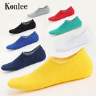 Men's Boat Invisible Cotton Socks No Show Nonslip Liner Low Cut Sports Sock