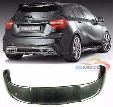 Carbon Fiber P Style Rear Roof Spoiler For W176 A-Class A180 A260 13UP M083