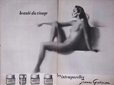 PUBLICITÉ PRESSE 1975 - LES INTEMPORELLES DE JEANNE GATINEAU - SEIN -ADVERTISING