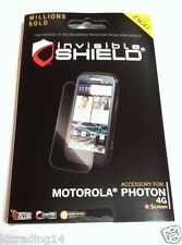 2x NEW ZAGG Screen Protector Cover Anti-Scratch for MOTOROLA PHOTON 4G