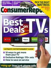 2014 Consumer Reports Magazine: Deals on TVs/Entertainment Guide/Luxury Sedans